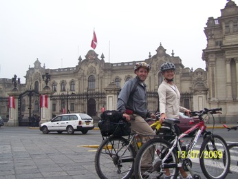 Lima city bike tour