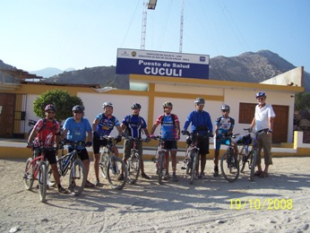 Chilca valley bike tour