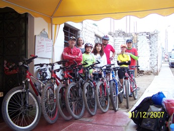 New year bike tour
